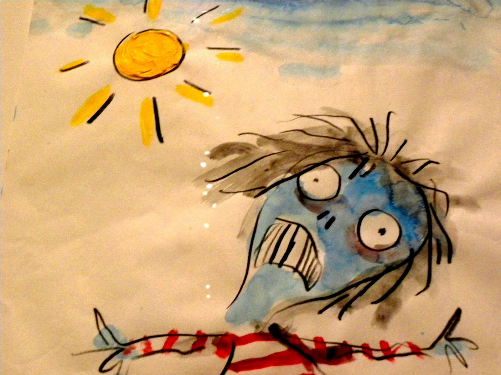 FromAnother0: Tim Burton\'s world thru LACMA\'s eyes