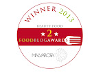 VINCITORE NELLA CATEGORIA BEAUTY FOOD