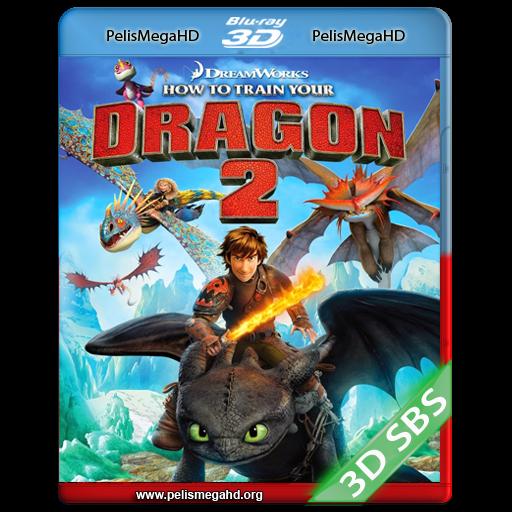 CÓMO ENTRENAR A TU DRAGÓN 2 (2014) FULL 3D SBS 1080P HD MKV ESPAÑOL LATINO