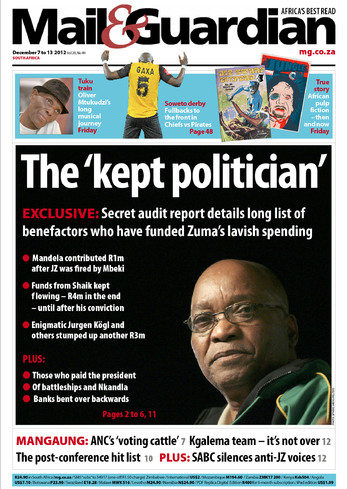Jacob Zuma: South Africa's 'kept' president
