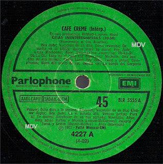 CAFÉ CREME – Citas Ininterrumpidas de Los Beatles / Soñando (1977) CAFE+CREME-Los+Beatles-So%25C3%25B1ando-Lado+1