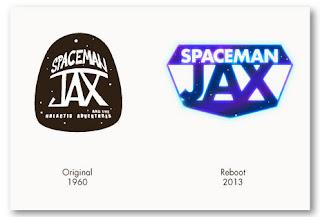 Curio and Co. Curio & Co. www.curioanco.com - Spaceman Jax - Reboot Logo - Cesare Asaro