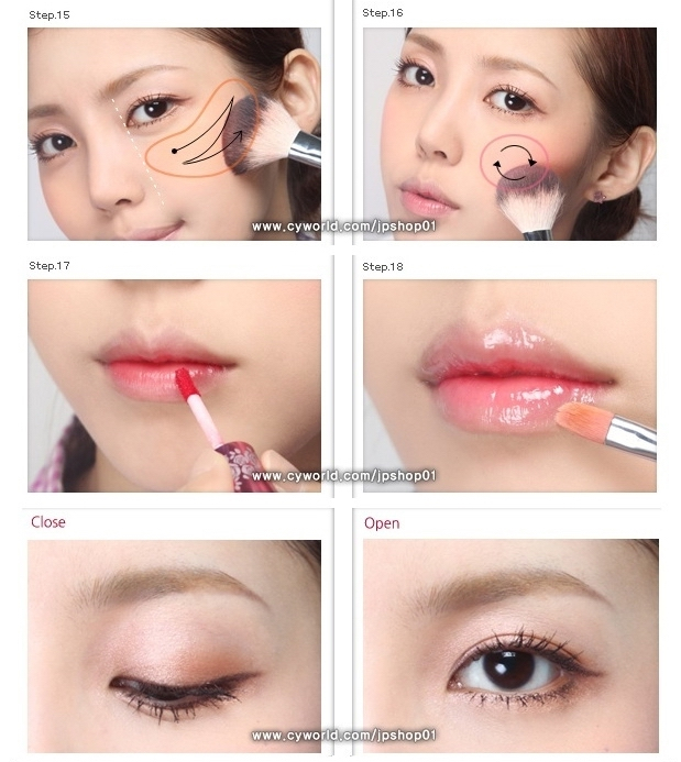 **~Zibees.com~** Fashion Guilt DIY/Tips!! U0026quot;Girl Next Dooru0026quot; Korean Makeup Tutorial Picture DIY ...