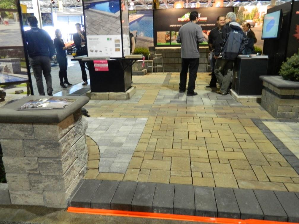 Landscape Ontario 2014 Congress interlocking paver company by garden muses-a Toronto gardening blog