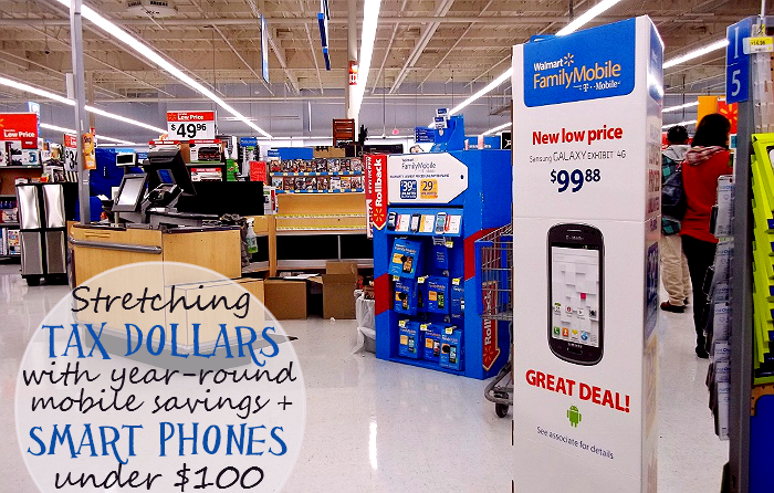 Smartphones Under $100 With Walmart #FamilyMobile #Shop