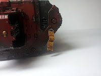 LAND RAIDER BLOOD ANGELS - WARHAMMER 40000 11.
