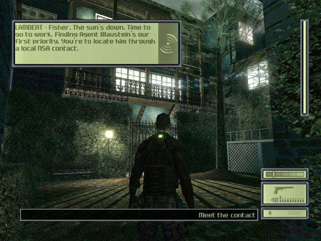 Tom Clancy's Splinter Cell 1 Game Free Download Full Version For Pc