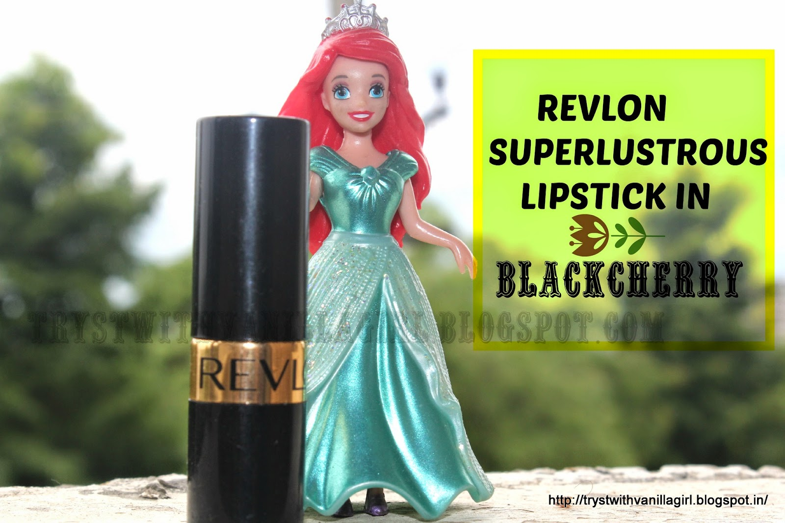 REVLON SUPERLUSTROUS LIPSTICK IN BLACKCHERRY
