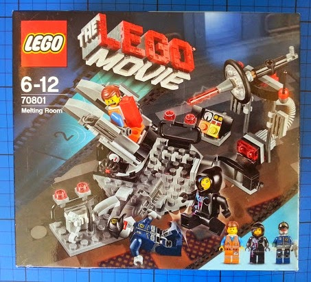The LEGO Movie The Melting Room 70801 Review