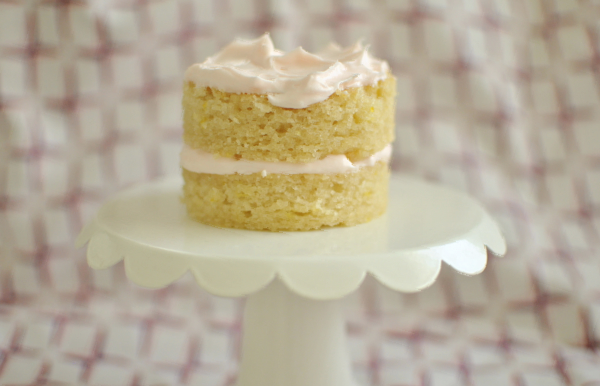 mini layer cake