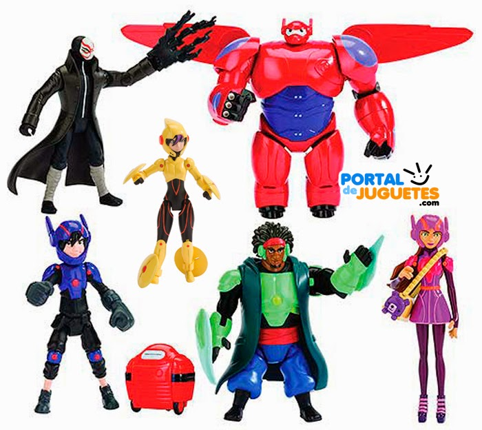 juguetes big hero 6 disney bandai