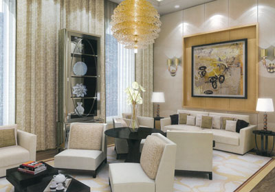 World amazing gallery mukesh ambani 39 s home antilla - Casas bien decoradas ...