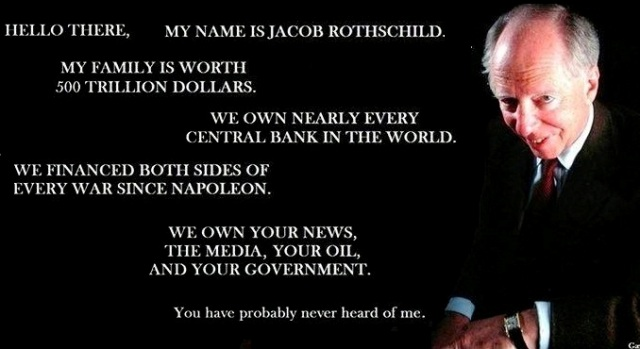 Jacob Rothschild the elite that control the world
