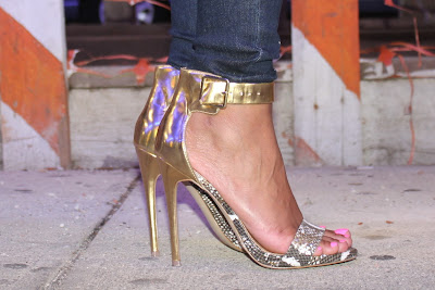 marlenee, strappy sandals, allthingsslim, heels, gold heels, sexy sandals, snakeskin sandals,