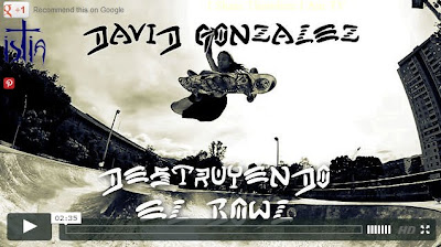 David Gonzalez, Skateboarding Video, SOTY