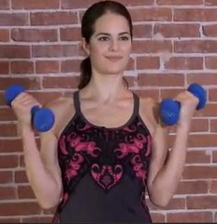 Ejercicios brazos y hombros para mujeres