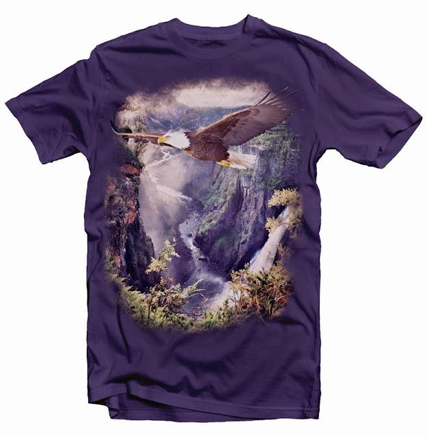 eagle tshirt design