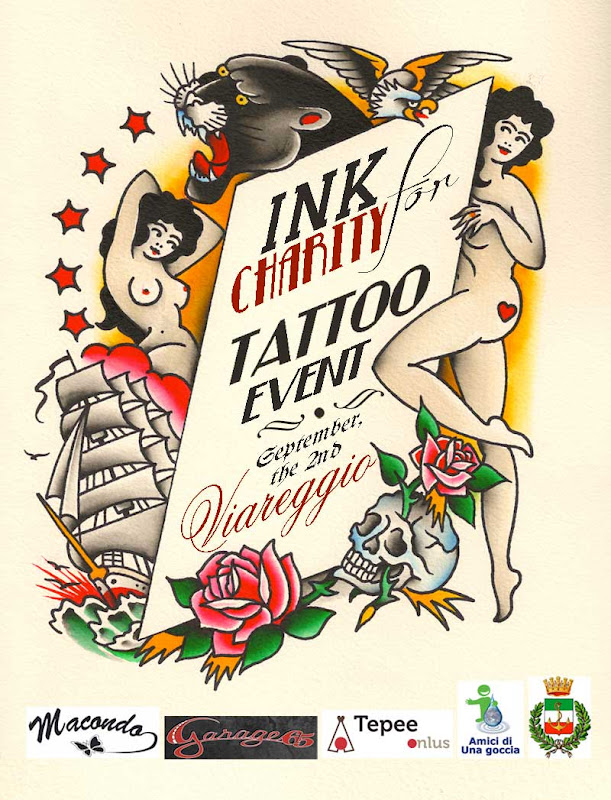 Pepe&Zuno Electric Tattooing: INK FOR CHARITY, TATTOO EVENT, STAY