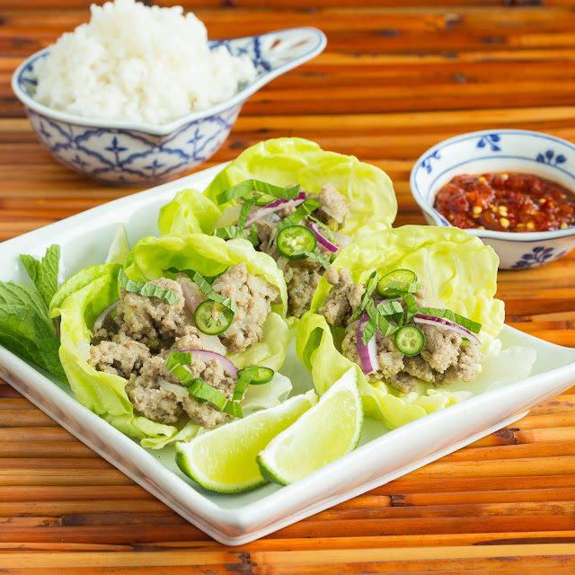 Kid Cultivation: Thai Turkey Lettuce Wraps (Larb)
