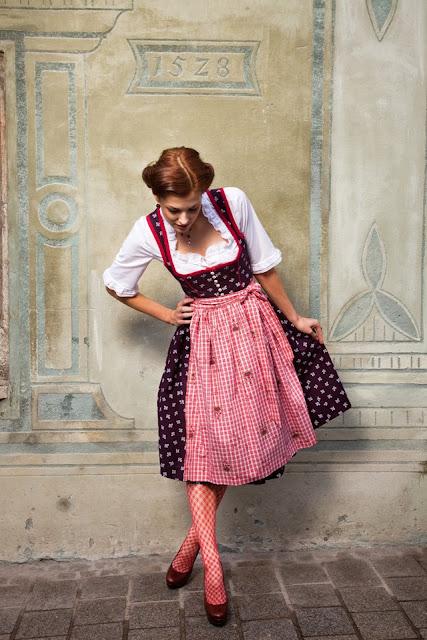 Traditional Austrian Dress