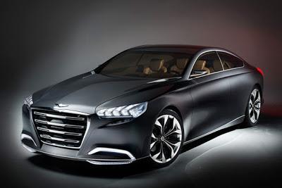 Hyundai HCD-14 Genesis Concept takes a sleek look at the future