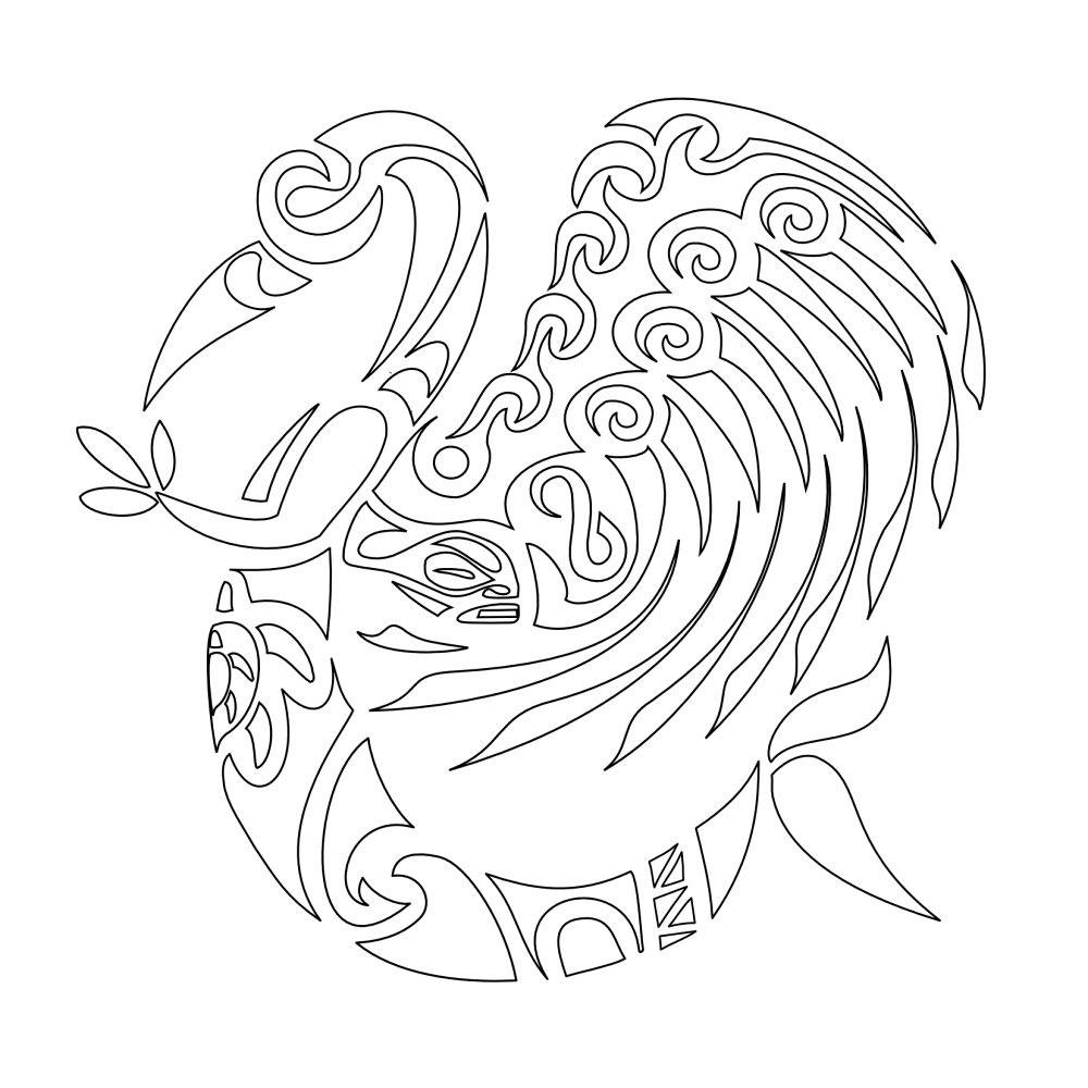 disegni di angeli stilizzati - disegni da colorare