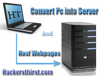 convert pc in webserver