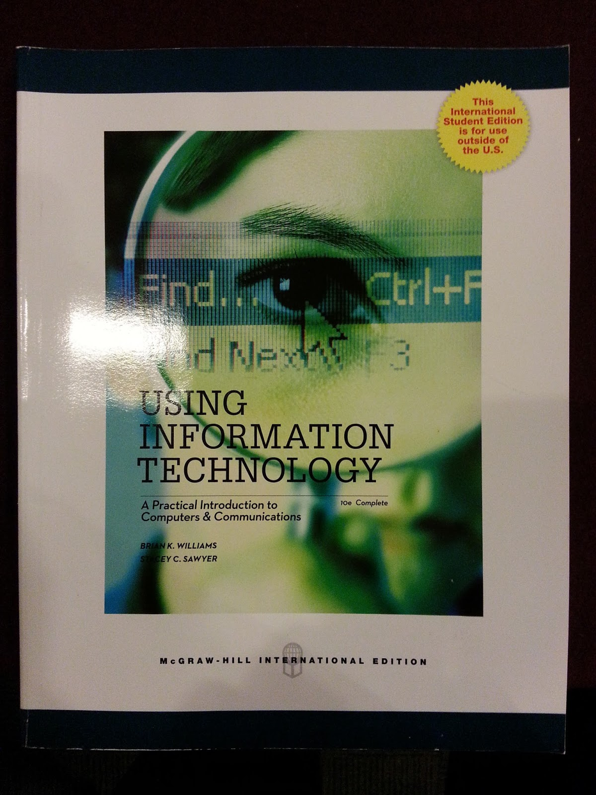 coursework assessment manual for ict Digital transformation a framework for ict literacy appendix a sample assessment task- ict proficiency over the course of its.