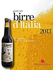"""La Camoz fra le 56 """"Grandi Birre d'Italia"""" per slow food"""
