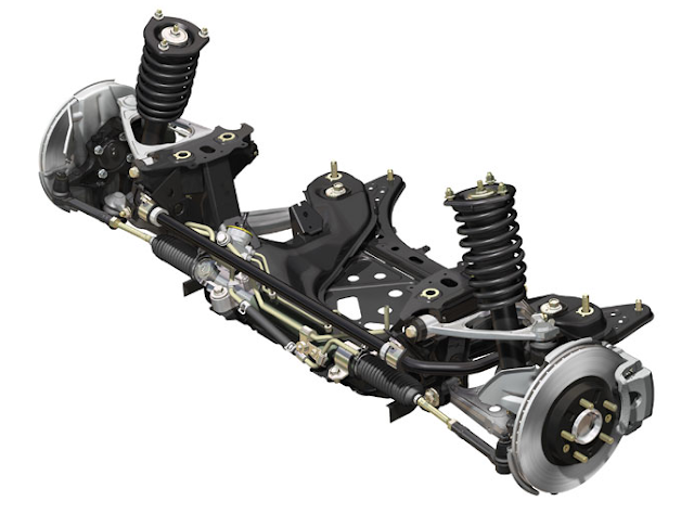 Mazda MX-5 Roadster NC Front Suspension