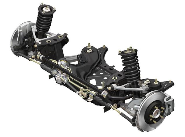 Mazda MX-5 Roadster NC Front Suspension