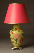 Designer Decoupage Lamps