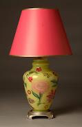 Designer Decoupage Lamps