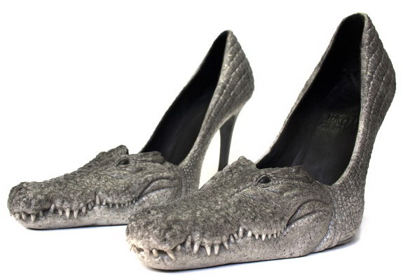 ALL ABOUT NEW FASHION BRANDS Crocodile Shoes For Women