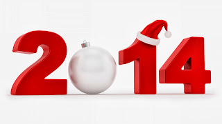 happy new year christmas 2014 wallpaper in 3d