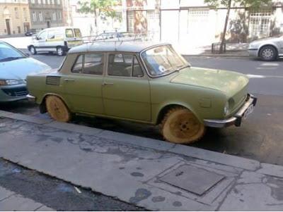 木製タイヤ