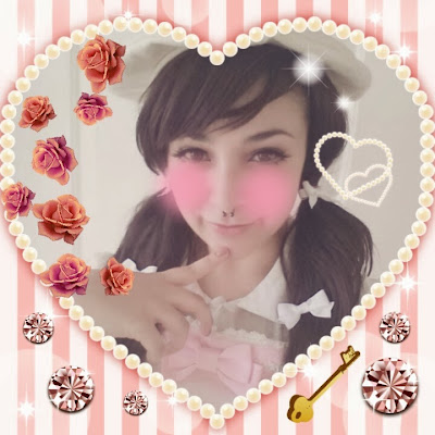 Kawaii purikura girl lolita japan iphone android mobile app @ lace a la mode