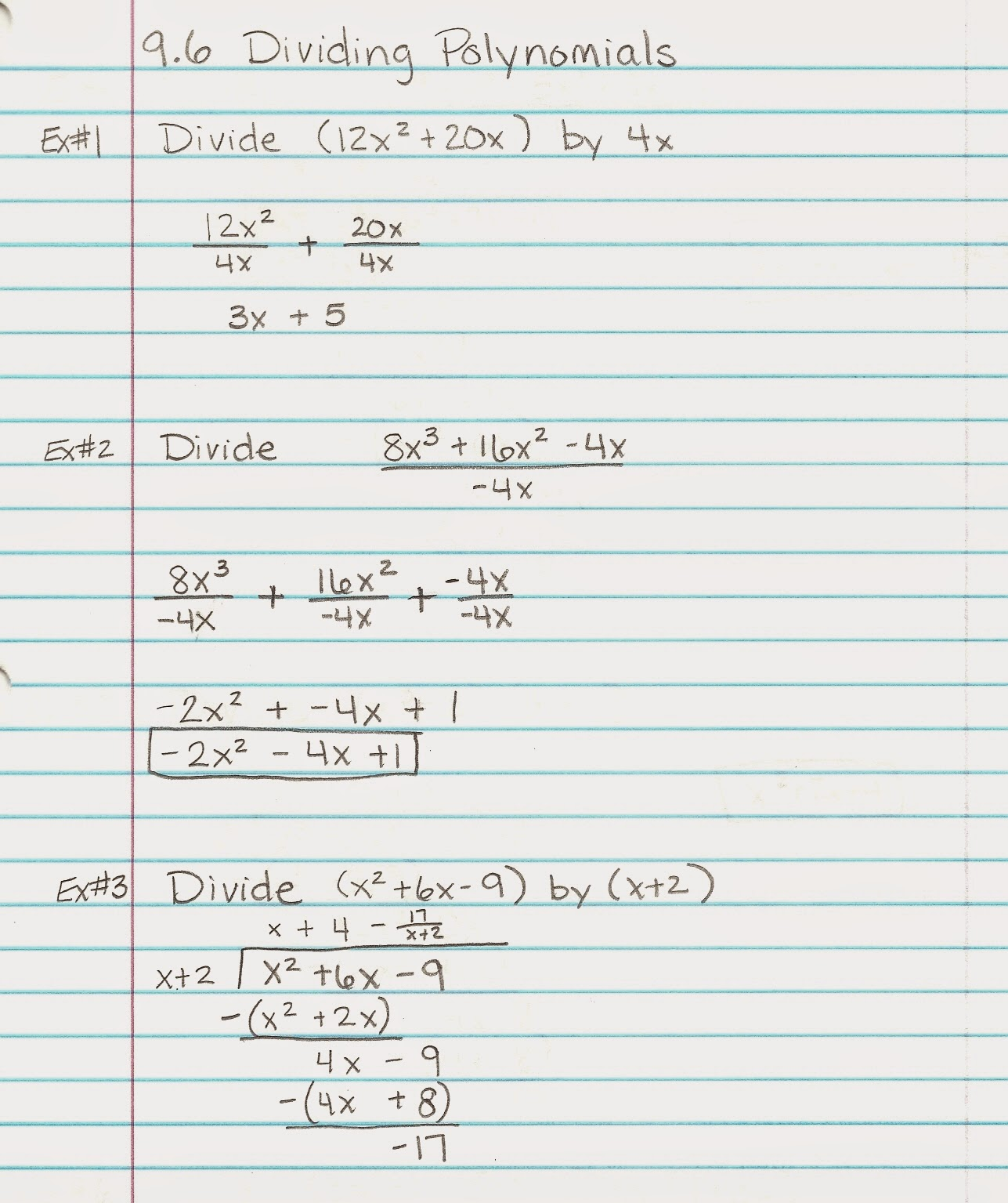 Multiplying And Dividing Polynomials Worksheet With Answers ...