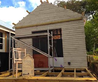 Maison de Lamond - under construction