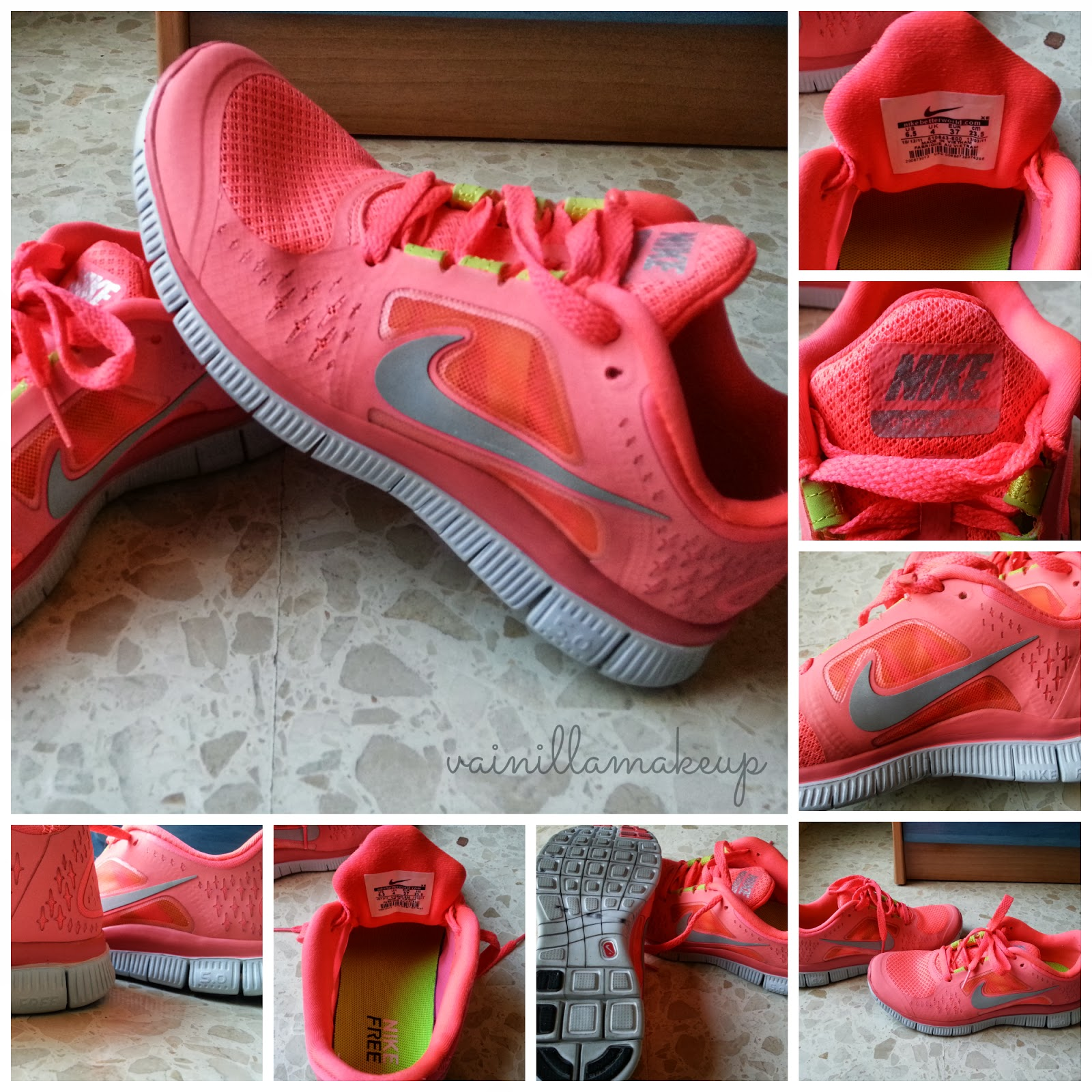 Nike Free Run - Rosa/Coral (Zapatillas fake Aliexpress)