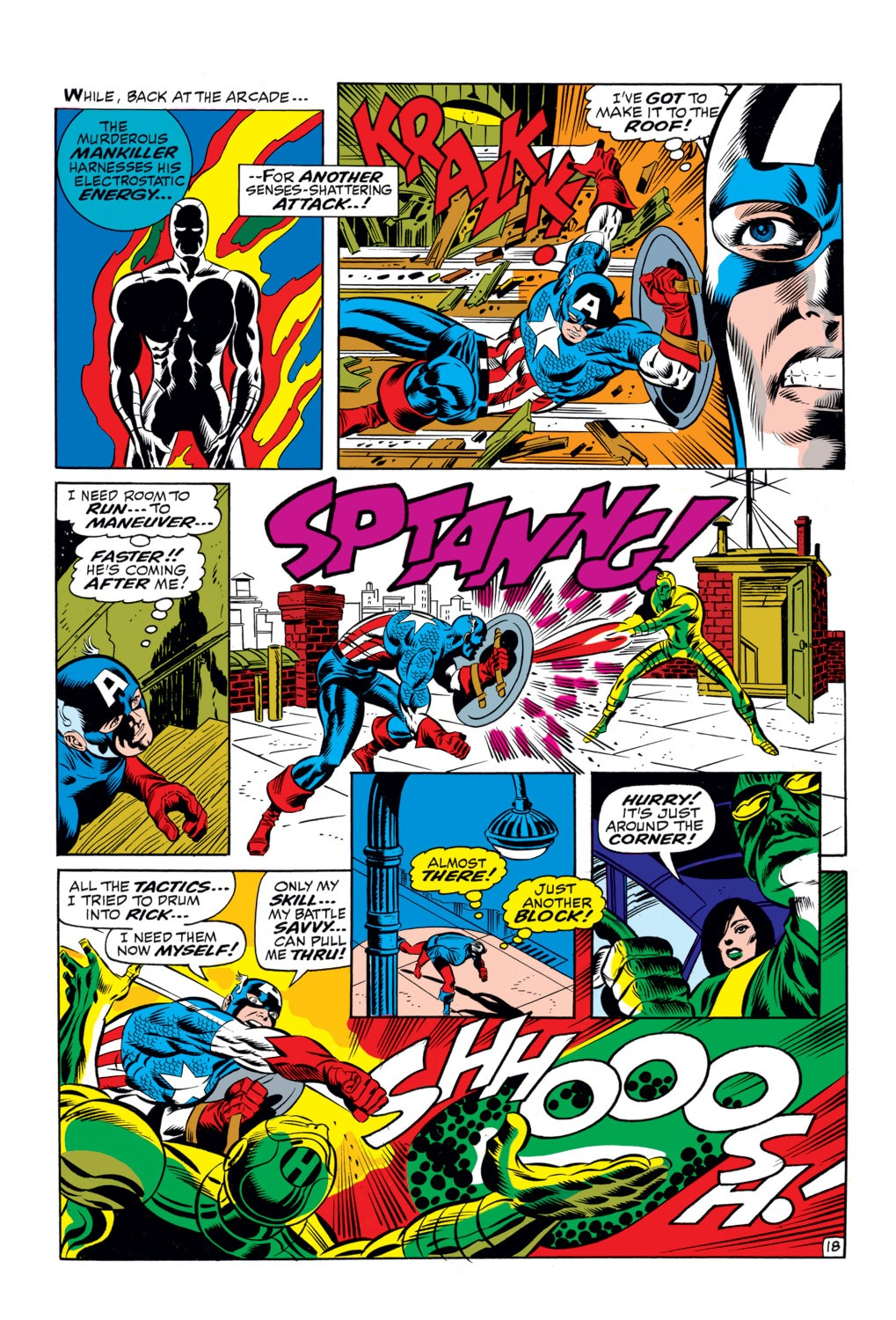Captain America (1968) Issue #111 #25 - English 17