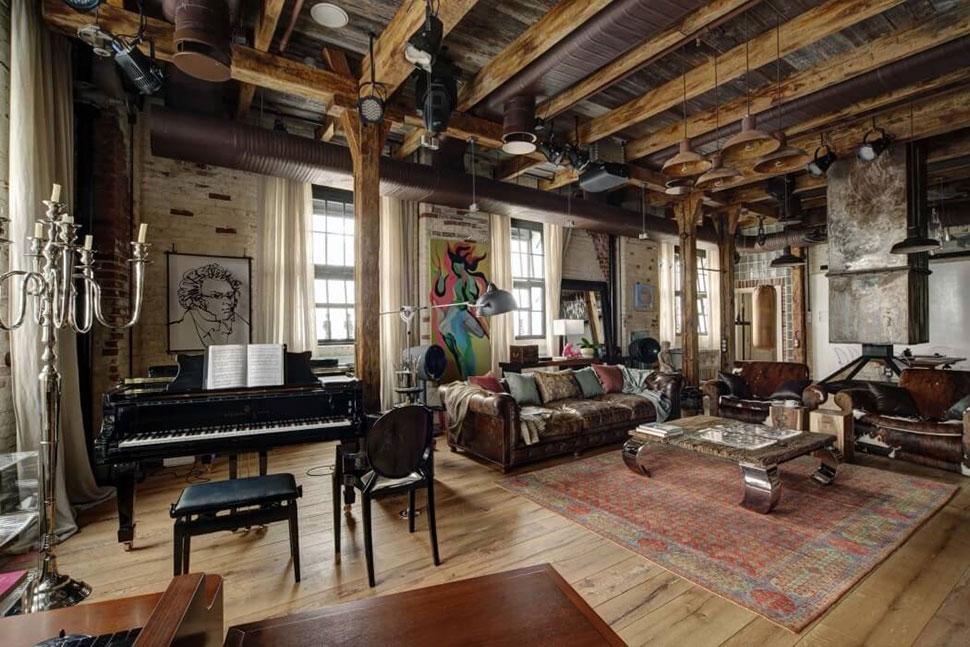 Could you be loft and be loved canela y naranja blog de decoraci n diy - Salon loft industriel ...