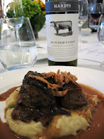 Lamb Duo and Hardys Chronicles 'Butchers Gold' Shiraz Sangiovese 2008 from South Australia