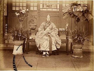 Eunuco en el Palacio Imperial. 1870-1880