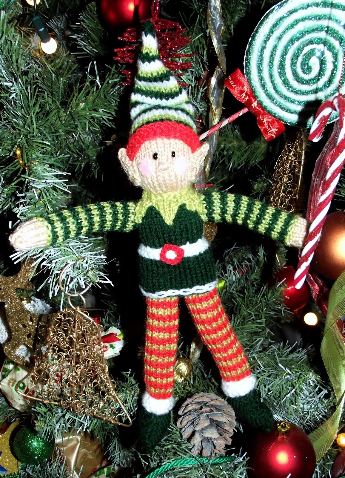 Liana Marcel - Keep calm and craft!: Free Christmas elf knitting ...