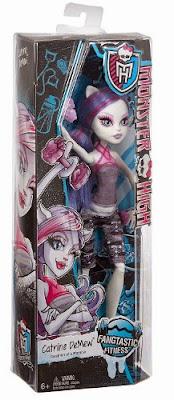 JUGUETES - MONSTER HIGH : Fangtastic Fitness  Catrine DeMew | Muñeca - Doll Toys | Producto Oficial 2015 | Mattel CHW76 | A partir de 6 años  Comprar Amazon.es | Buy Amazon.com