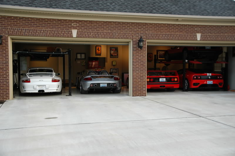 Ultimate garages amazing garages for Car garage