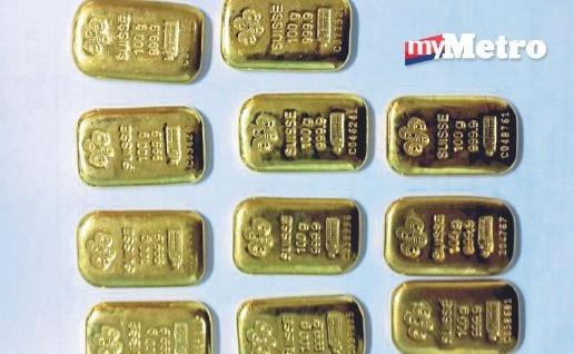 Kerugian hampir RM8 juta tersontot emas