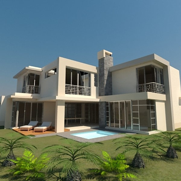 Modern homes exterior designs ideas home decorating for Exterior contemporary design