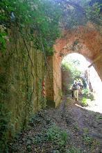 Boca nord del pas sota la carretera de Sant Quirze Safaja